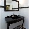 Black console main bathroom Cashmere