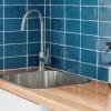 Brisbane Bathrooms laundry bathroom renovation feature tiles tub