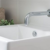 Brisbane bathrooms close up vanity basin wall mounted spout